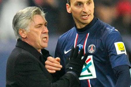 Carlo Ancelotti au PSG