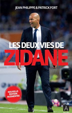 Livre les deux vies de Zidane