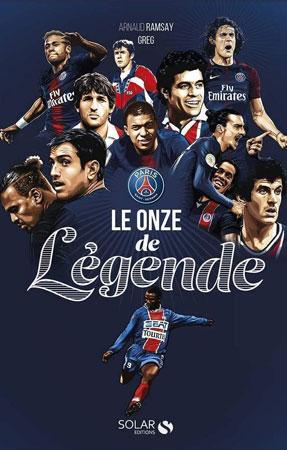 Livre le 11 de légende du PSG
