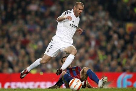 Zinédine Zidane le héros français