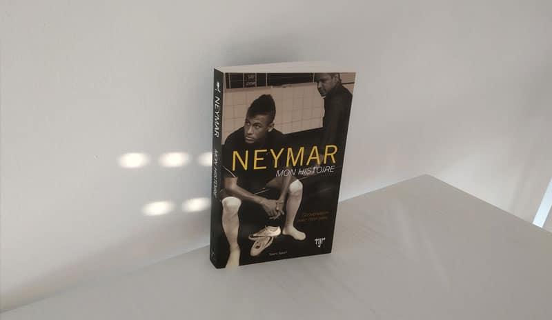 Livre Neymar Mon Histoire