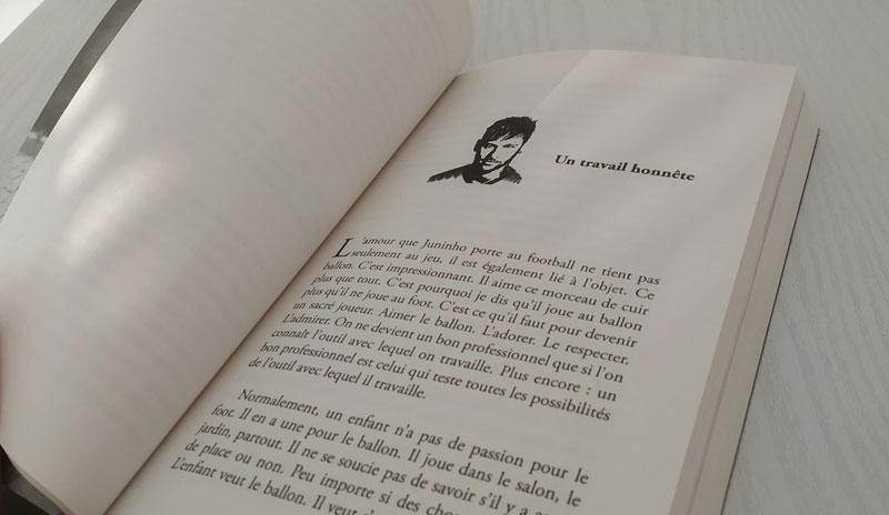 Mise en page livre neymar