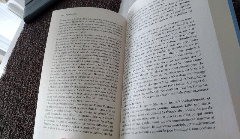 ouvrage de reference sur guardiola