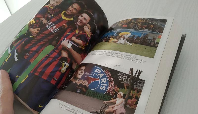 Photos dans le livre de Neymar