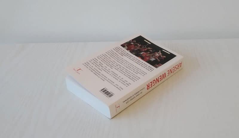 20 ans dans les coulisses d'Arsenal Quatrième de couverture