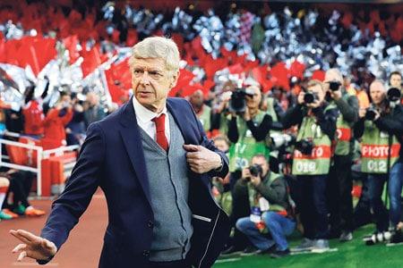 Entraineur Arsene Wenger