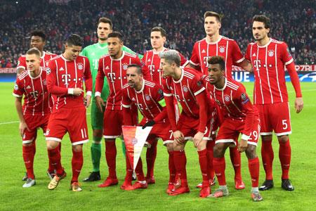 L'équipe du Bayern