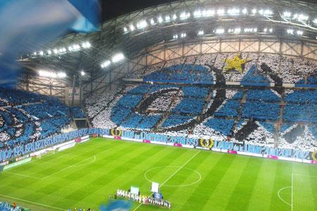 Le vélodrome stade emblématique de Ligue 1