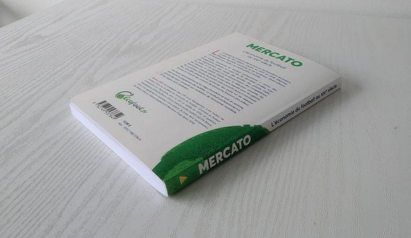 Mercato L'économie du football au XXIe siècle quatrième de couverture