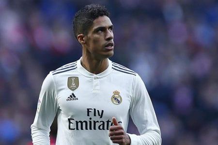 Raphaël Varane Real Madrid 2019