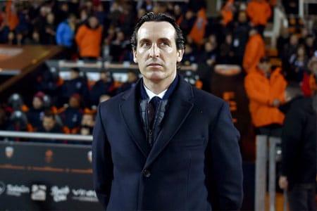 Unai Emery sur le banc d'Arsenal