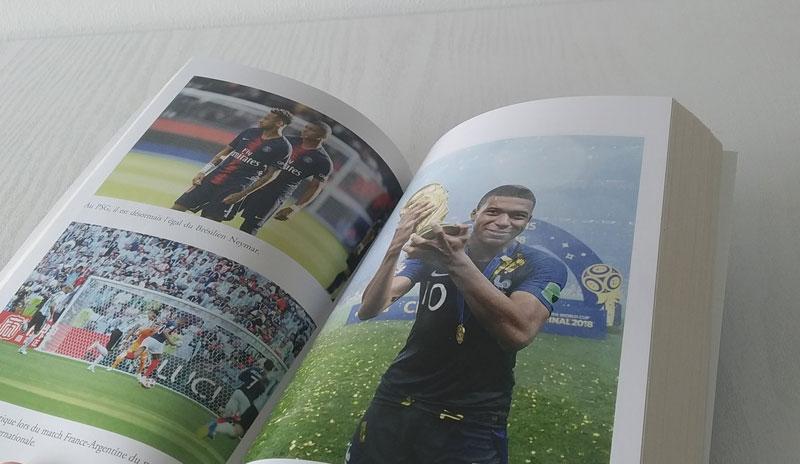 Mbappé rendez vous avec l'éternité photos du livre
